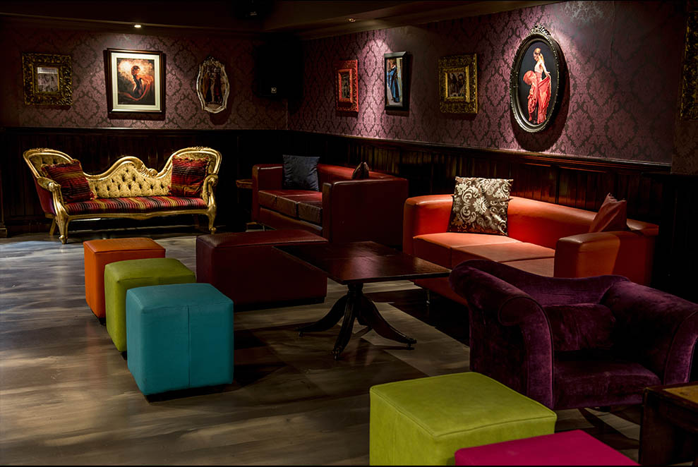 Zingara Function Room Seating