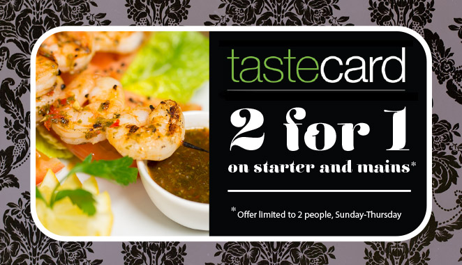 Zingara tastecard offer
