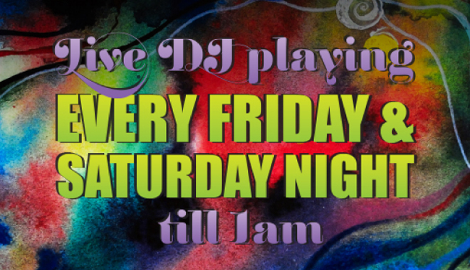 Zingara Friday & Saturday DJs